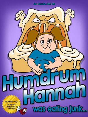 Humdrum Hannah Was Eating Junk (ebook)