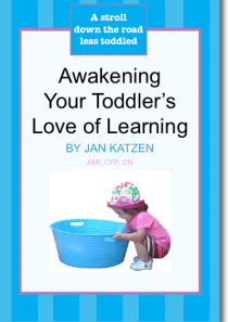 Awakening Your Toddler's Love of Learning